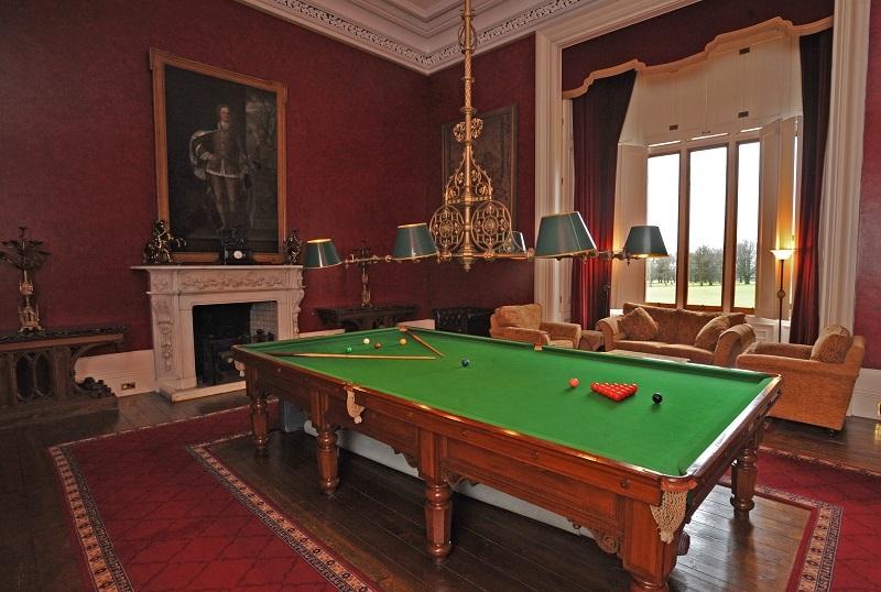 LIVING - Allerton Castle. The Billiard Room. Picture: Matt Clark