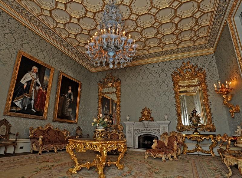 LIVING - Allerton Castle Drawing Room. Picture: Matt Clark